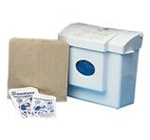 Health Gards Restroom Liners 10 in. W x 9 in. L x 3.25 in. H