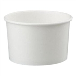 White Paper Food Container - 8-10 Oz.
