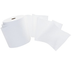 Scott 1000 Roll Towels, 1 Ply, 8in.Wx1000ft.L, 1.5in. Core, White, Hard Roll