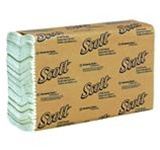Scott Multi-Fold White 1 Ply 9.25 in. W x 9.5 in. L Folded Towels