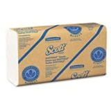 ScottFold 1 Ply Multifold White 9.4 in. W x 12.4 in. L Folded Towels