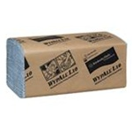 Wypall Light Blue L10 Half Fold 1 Ply 9.1 in. W x 10.25 in. L Windshield Towels