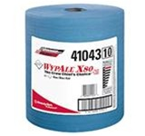 WypALL X80 Blue ShopPro Jumbo 1 Ply, 12.5 in. W x 13.4 in. L Shop Towels