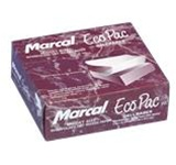 Marcal Wax Eco-Pac Interfolded 12 in. W x 10.75 in. L White Food Prep Tissues