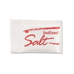 Individual 0.5 g Salt Packets - Bulk Case
