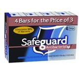 Safeguard Beige Individually Wrapped Deodorant 4 oz. Bar Soap