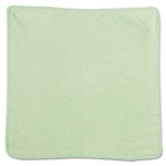 Microfiber Green Cleaning Cloth - 12 in. x 12 in.