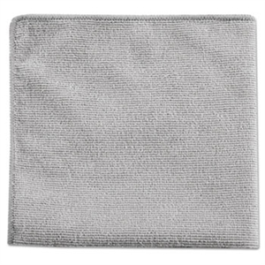 Executive Multi-Purpose Gray Microfiber Cloth - 12 in. x 12 in.