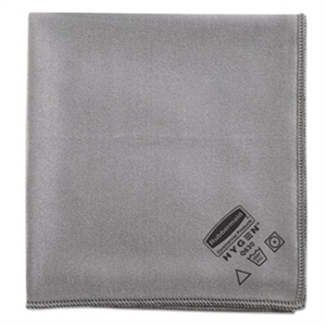 Executive Glass Microfiber Gray Cloth - 16 in. x 16 in.