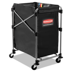 Collapsible Black 4 Bushel X-Cart