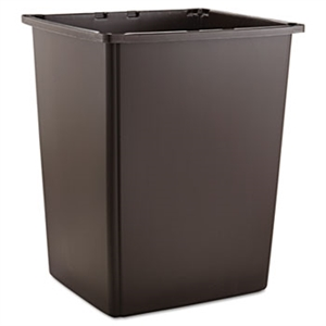Glutton Brown Rectangular Container - 56 Gal.
