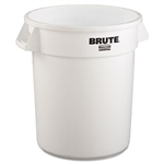 Round Brute White Container - 20 Gal.