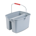 Double Gray Utility Pail - 19 Qt.