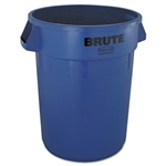 Round Brute Blue Container - 32 Gal.