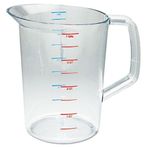 Bouncer Clear Measuring Cup - 4 Qt.