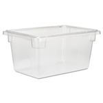 Clear Food and Tote Boxes - 5 Gal.