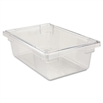 Clear Food and Tote Boxes - 3.5 Gal.