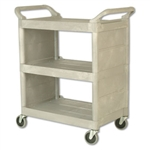 Platinum 3 Shelves Utility Cart - 300 lb.