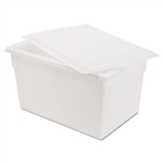 White Food and Tote Box - 21.5 Gal.