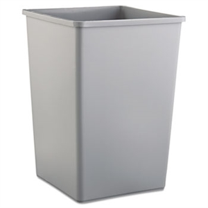 Untouchable Gray Square Container - 19.5 in. x 19.5 in. x 27.6 in.