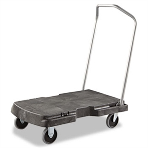 Standard Duty Black Triple Trolley - 32.5 in. x 20.5 in.