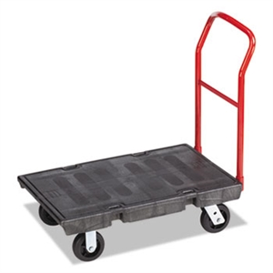 Heavy Duty Black Platform Truck - 500 lb.