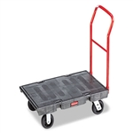 Heavy Duty Black Platform Truck - 1000 lb.