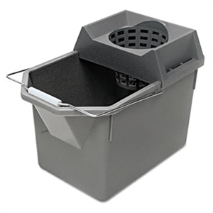 Pail and Mop Strainer Combination Steel - 15 Qt.
