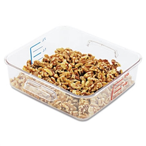 SpaceSaver Square Clear Container - 2 Qt.