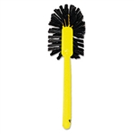 Polypropylene Fill Brown Toilet Bowl Brush - 17 in.