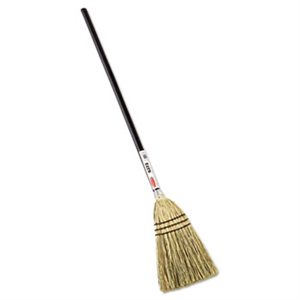 Corn Fill Lobby Broom - 1.5 in. x 38 in.