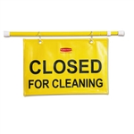 Site Safety Hanging Yellow Sign - 1 in. x 13 in. x 1 in.