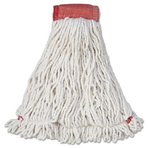 Web Foot Shrinkless Large White Wet Mop
