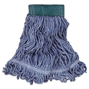 Super Stitch Looped End Medium Blue Blend Mop