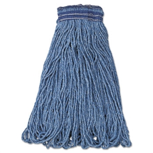 Universal Headband Blue Blend Mop - 24 oz.