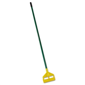Invader Side Gate Fiberglass Green Wet Mop Handle - 60 in.