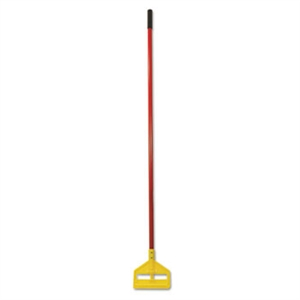 Invader Side Gate Fiberglass Red Wet Mop Handle - 60 in.