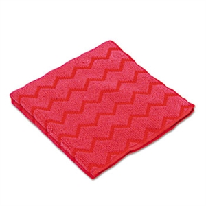 Microfiber General Purpose Red Cloth - 16 in. x 16 in.