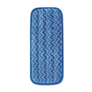 Microfiber Wall and Stair Blue Wet Pad - 11 in.
