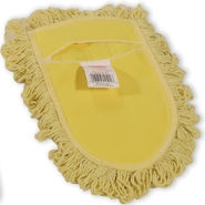 Wedge Looped End Yellow Dust Mop Head