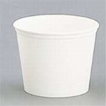Sweetheart White Double Wrap 165 oz. Paper Bucket