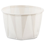 White Treated Paper Souffle Cup - 2 oz.