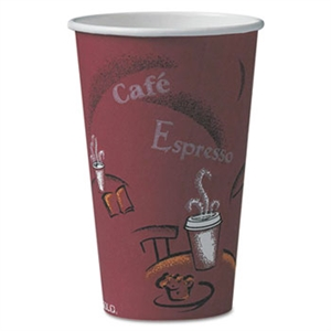 Bistro Paper Hot Drink Cup - 16 oz.