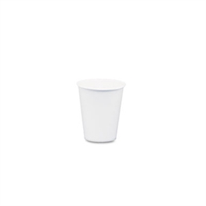 White Paper Water Cup - 3 oz.