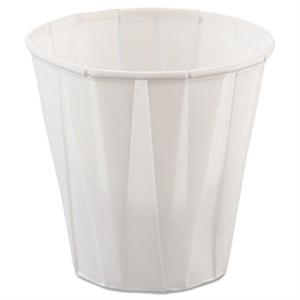 White Treated Souffle Paper Cup - 3.5 oz.