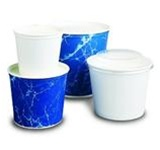 Sweetheart White 83 oz. Paper Buckets