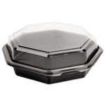 OctaView Hinged Lid Cold Food Container - 21 oz.