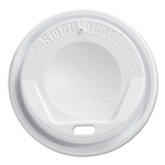 Gourmet White Dome Lid for 8 oz. Cups