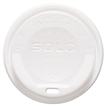 Gourmet White Dome Lid for 12-24 oz. Cups