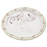 Symphony Clay Coated Paper Round Plate - 6 in.